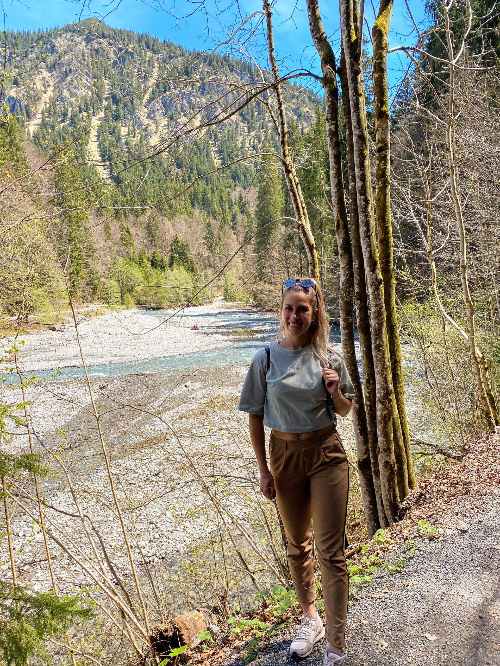 Reisebloggerin Chiara Hiller Allgäu Wandern